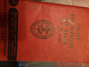 Boy scout book. CANADIAN for Sale in Dracut, MA