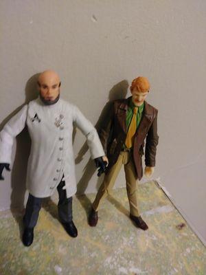 Jim gordon and hugo strange action figures for Sale in National City, CA