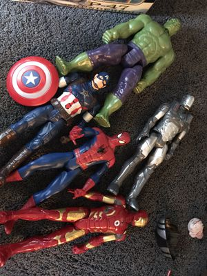 Marvel toys for Sale in San Bernardino, CA