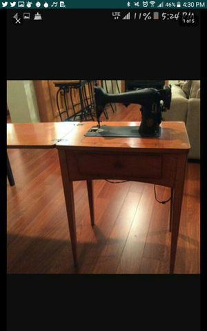 Antique sewing machine table for Sale in Cary, NC