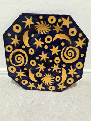 Sun and Moon Plate Wall Hanging for Sale in Sun Lakes, AZ