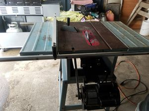 Delta saw table real good conditions for Sale in Eugene, OR