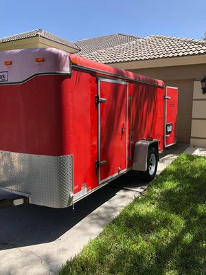 2001 12x6 Haulmark Enclosed Trailer for Sale in Palm Harbor, FL