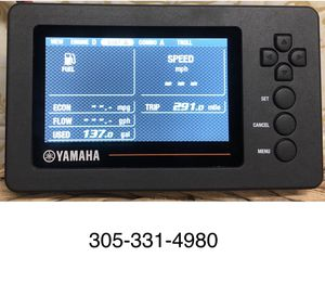Yamaha outboard gauge 6yc shipping available for Sale in Miami, FL