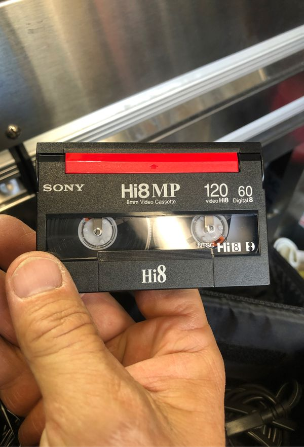 Sony Hi8 video camera