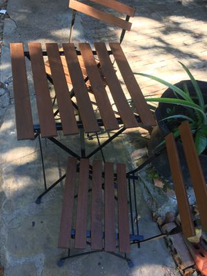 balcony table 3 pieces set for Sale in Houston, TX