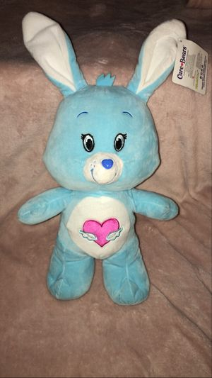 Care Bear Blue Bunny Stuffed Animal for Sale in Tempe, AZ