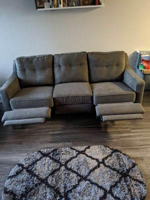 Reclining couch with matching chair for Sale in San Jose, CA