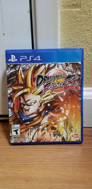 Dragonball Fighter Z - PS4, Price Firm, No Trade , great Condition for Sale in Garden Grove, CA