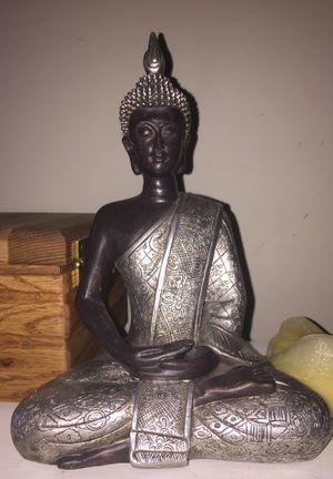 Silver Buddha figurine *pending pickup* for Sale in Virginia Beach, VA