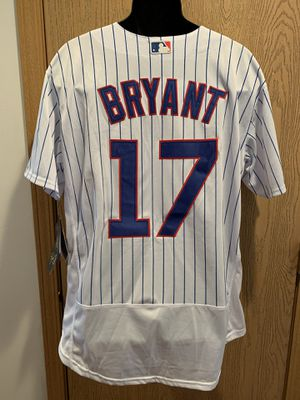Chicago Cubs Jersey Bryant #17 by Majestic for Sale in Aurora, IL