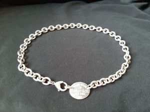 "Please Return to Tiffany & Co 925 Oval Tag, 17"" Necklace for Sale in Peoria, AZ"