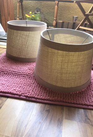 Twin lamp shades for Sale in San Diego, CA