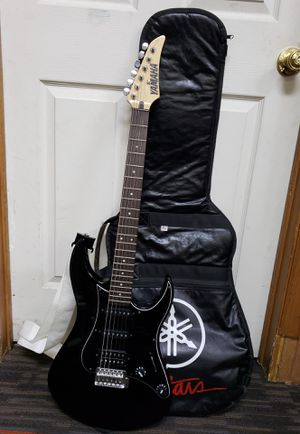 YAMAHA RGZ112P Electric Guitar Black (USED) for Sale in Waterbury, CT