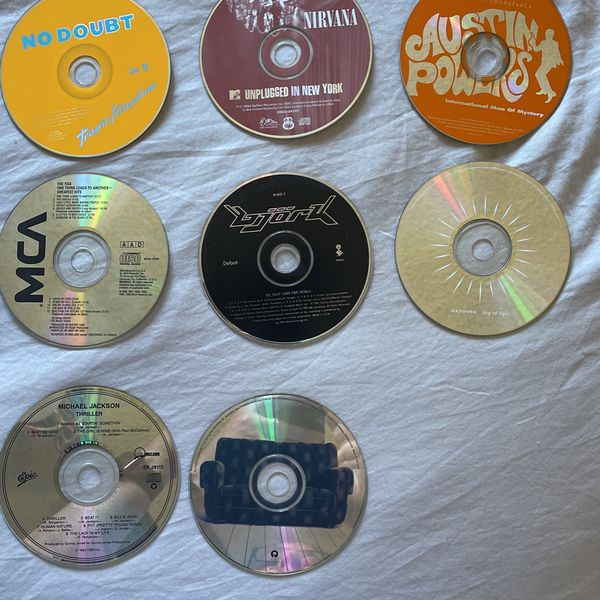 Depeche Mode Madonna Enya Cd's With And Without Cases EACH