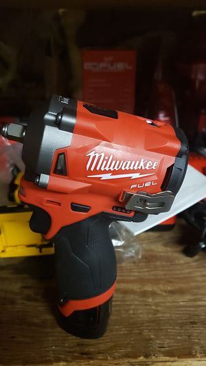 Milwaukee m12 fuel 3/8 friction ring impact wrench for Sale in Lompoc, CA