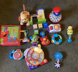Lot of baby toys pre owned good shape for Sale in Oak Forest, IL