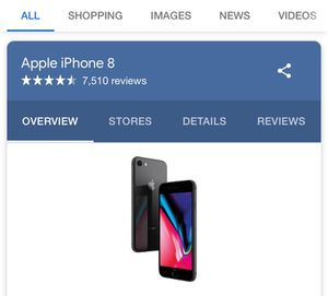 iPhone 8 for Sale in Baltimore, MD
