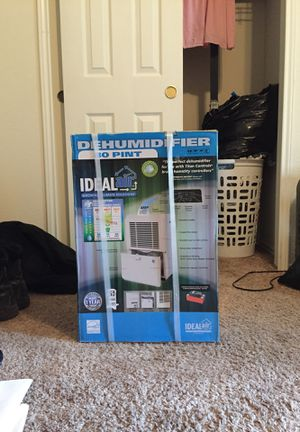 Ideal-air dehumidifier 80 pint for Sale in Austin, TX
