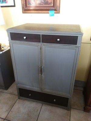 Mens Armoire, completely restored painted stained and sealed! ABSOLUTELY AMAZING ! 36x24x48 tall.. for Sale in Joliet, IL