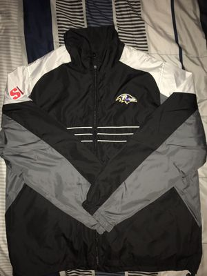 Vintage Baltimore Ravens Windbreaker Jacket for Sale in Wethersfield, CT