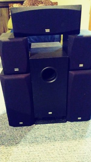 Onkyo 6-piece speaker system surround for Sale in MONTGOMRY VLG, MD