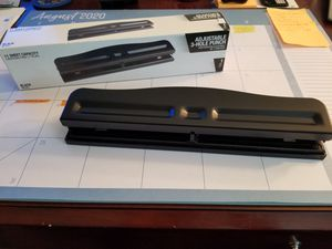Adjustable 3-Hole Punch for Sale in Linda, CA