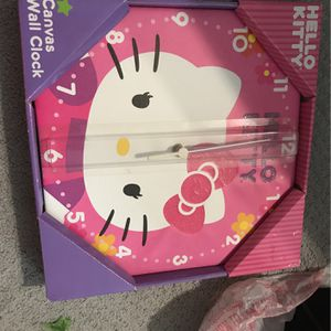 Hello Kitty Clock for Sale in Converse, TX