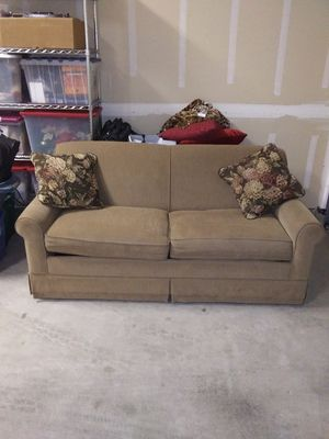 Queen size sofa bed brand new still has plastic on mattress for Sale in Fresno, CA