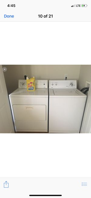 Kenmore Washer and Dryer For Sale! Pick Up Saturday October 12. for Sale in Riverdale, GA