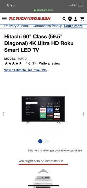 Hitachi 60 inch for Sale in Washington, DC