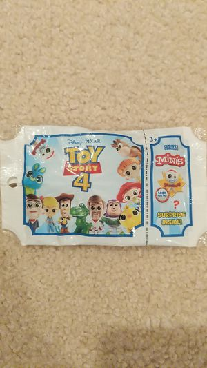 Disney Pixar Toy Story 4 Minis Figures Series 1 for Sale in Sacramento, CA