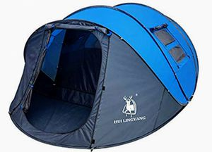 New Gazelle Easy Pop Up Tent-Automatic Setup, Double Layer - Instant Family Tents for Camping,Hiking & Traveling for Sale in Hesperia, CA