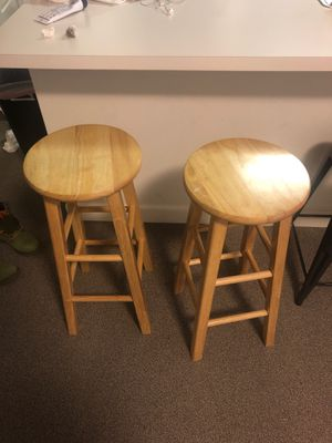 Wooden Bar stools for Sale in Washington, DC