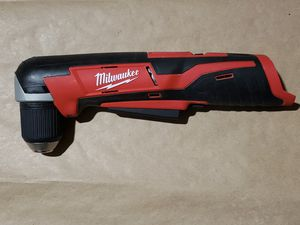 Milwaukee M12 12-Volt Lithium-Ion Cordless 3/8 in. Right Angle Drill (Tool-Only) for Sale in Greenville, SC