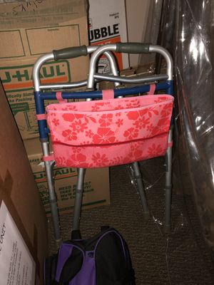 Walker with attached bag for Sale in Riverside, CA