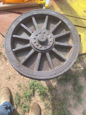 Concrete wagon wheel. for Sale in Abilene, TX