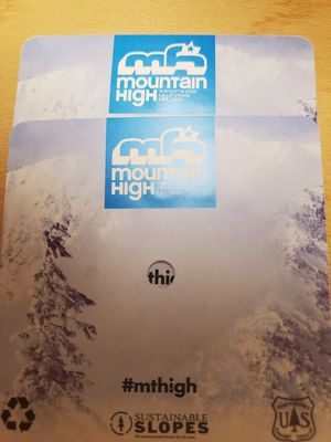 Two Mountain High tickets for Sale in Alhambra, CA