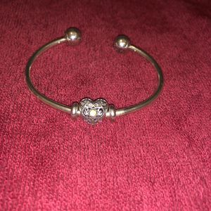 Pandora bangle with charm for Sale in New York, NY