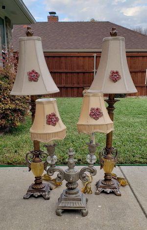 Vintage lamps for Sale in Plano, TX