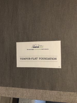 Free - Queen Tempur-Flat Foundation for Sale in Tampa, FL