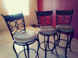 3bar stools used normal for 150.00 for Sale in San Diego, CA