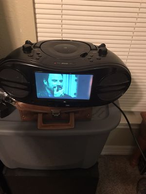 Portable dvd n radio player for Sale in Grand Prairie, TX