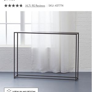 West Elm - Mill Mini Console Table - $150 for Sale in Arlington, VA