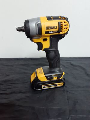"Dewalt 20v 3/8"" Cordless Impact Wrench (BATTERY AND TOOL ONLY) firm. for Sale in Anaheim, CA"