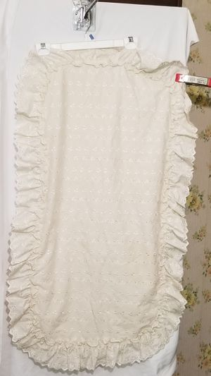 Vintage Jcpenney white lace pillow case for Sale in Three Rivers, MI
