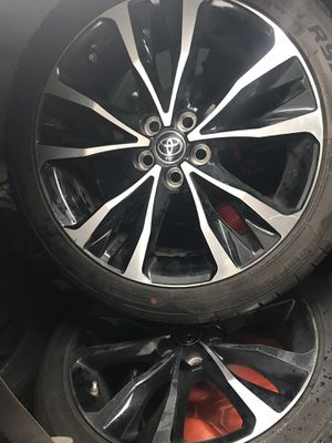 "17"" Toyota Corolla OEM wheels rims black for Sale in Riverdale, MD"