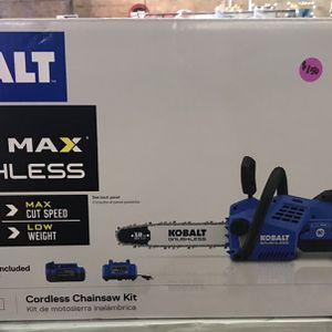 Kobalt Chainsaw Kit for Sale in Winston-Salem, NC
