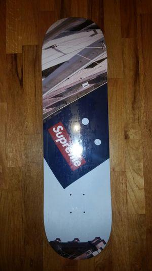 Supreme Banner Logo Skateboard Deck for Sale in Clyde Hill, WA