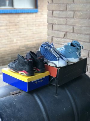 Air Jordan's 6s, 13s & 7s for Sale in Houston, TX